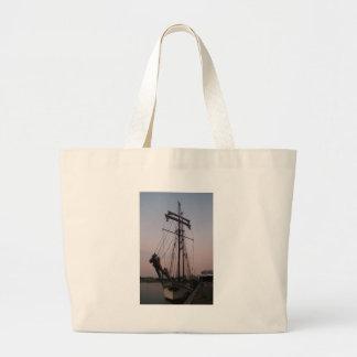 Dutch Schooner Large Tote Bag