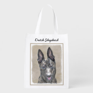 Dutch Shepherd Reusable Grocery Bag