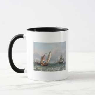 Dutch Shipping in a Choppy Sea Mug