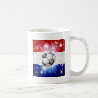 Dutch soccer flag coffee mugs