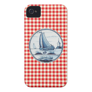 Dutch traditional blue tile iPhone 4 Case-Mate case