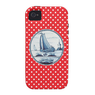Dutch traditional blue tile iPhone 4/4S cases