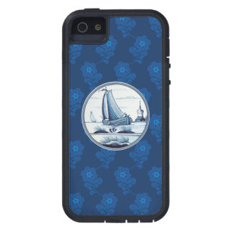 Dutch traditional blue tile iPhone 5 cases