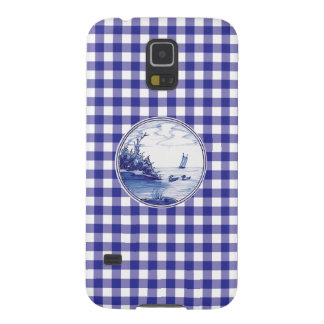 Dutch traditional blue tile galaxy s5 cover