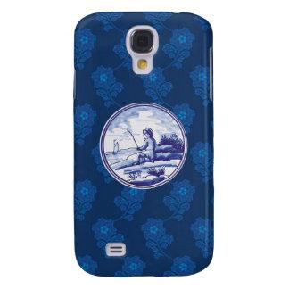 Dutch traditional blue tile HTC vivid case