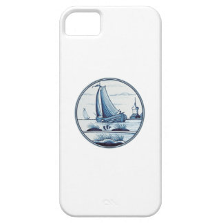 Dutch traditional blue tile iPhone 5 case