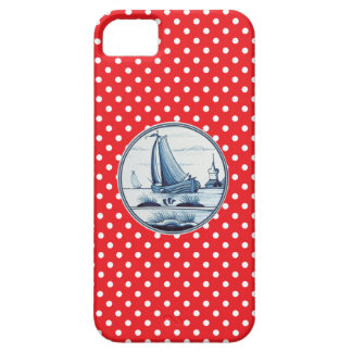 Dutch traditional blue tile case for iPhone 5/5S