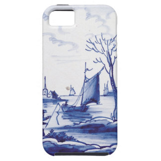 Dutch traditional blue tile iPhone 5 cover