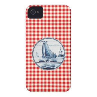 Dutch traditional blue tile Case-Mate iPhone 4 case