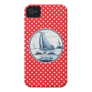 Dutch traditional blue tile iPhone 4 case