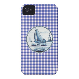 Dutch traditional blue tile iPhone 4 cases