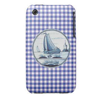 Dutch traditional blue tile iPhone 3 cases