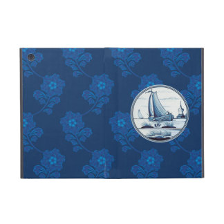 Dutch traditional blue tile iPad mini case