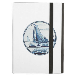 Dutch traditional blue tile case for iPad air