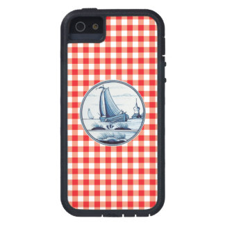 Dutch traditional blue tile iPhone 5/5S cover