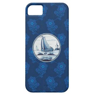 Dutch traditional blue tile iPhone 5 case