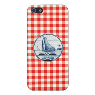 Dutch traditional blue tile iPhone 5/5S case