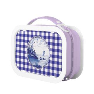 Dutch traditional blue tile yubo lunch box