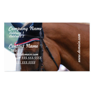 Dutch Warmblood Horse Business Cards