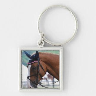 Dutch Warmblood Horse Keychain