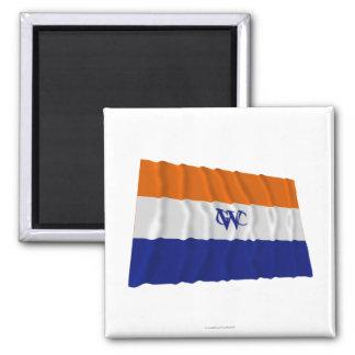 Dutch West India Company Flag Square Magnet