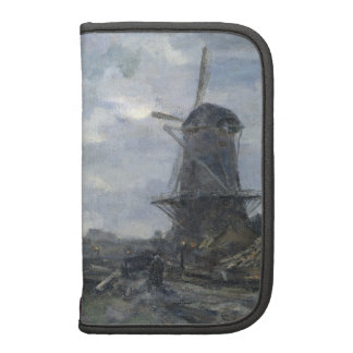 Dutch windmill in moonlight Maris Planners
