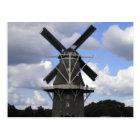 Dutch windmill poster postcard