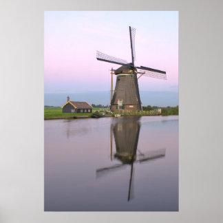 Dutch Windmill Print