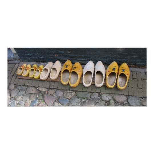 Dutch Wooden Shoes in Holland Poster