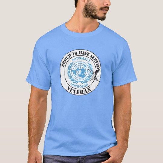 Dutchbat 3 UNPROFOR veteran T-Shirt