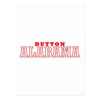 Dutton, Alabama Postcard