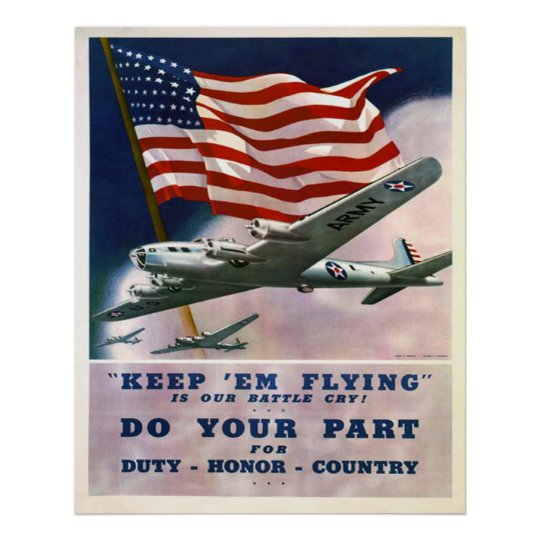 Duty Honour Country Poster