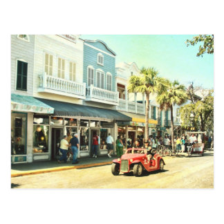 Duval Street Key West Florida Postcard