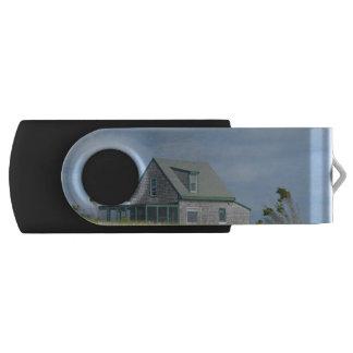 Duxbury Beach Swivel USB 2.0 Flash Drive