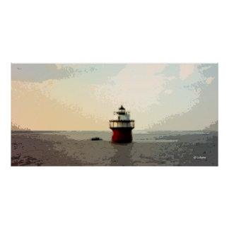 Duxbury Pier, Bug Light Poster