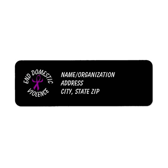 DVA Ribbon (humanised) Return Address Label