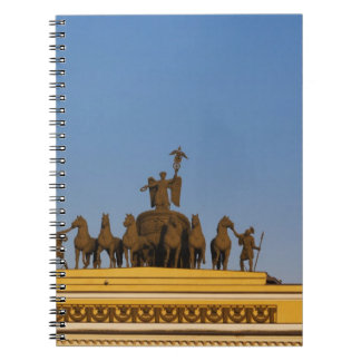 Dvortsovaya Square, Triumphal Arch, sunset 2 Notebooks