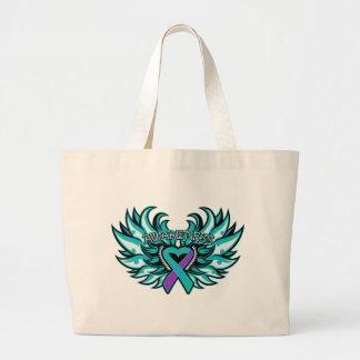 DVSA Awareness Heart Wings Bag