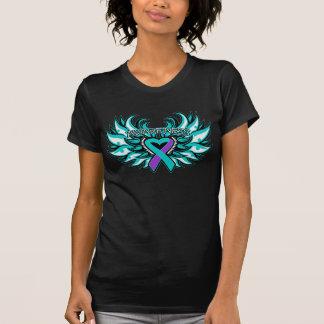 DVSA Awareness Heart Wings T Shirt
