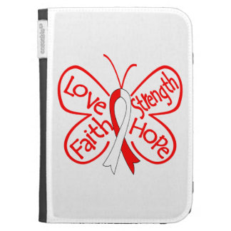 DVT Butterfly Inspiring Words Kindle 3G Case