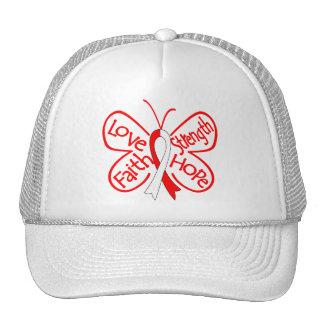 DVT Butterfly Inspiring Words Hat