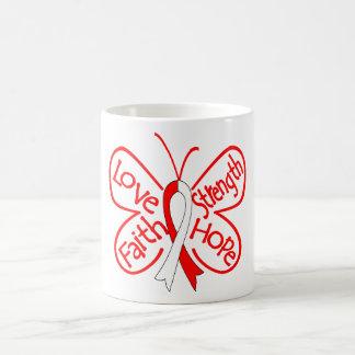 DVT Butterfly Inspiring Words Coffee Mugs