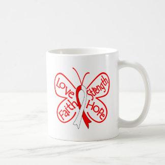 DVT Butterfly Inspiring Words Mug