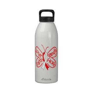 DVT Butterfly Inspiring Words Reusable Water Bottle