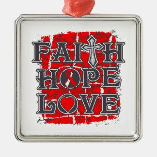 DVT Faith Hope Love Ornament