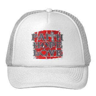 DVT Faith Hope Love Hat