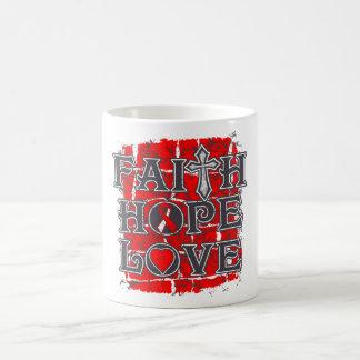 DVT Faith Hope Love Mugs