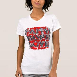 DVT Faith Hope Love Tshirts
