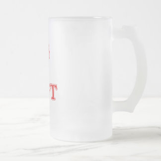 DVT FROSTED GLASS MUG