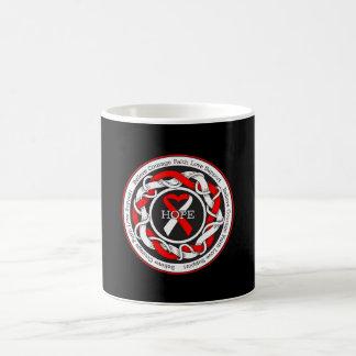 DVT Hope Intertwined Ribbon Coffee Mug